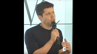 Sam Altman in conversation with StrictlyVC