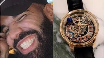Drake Plays Casino On $650K Watch With Roullette Wheel Built Inside