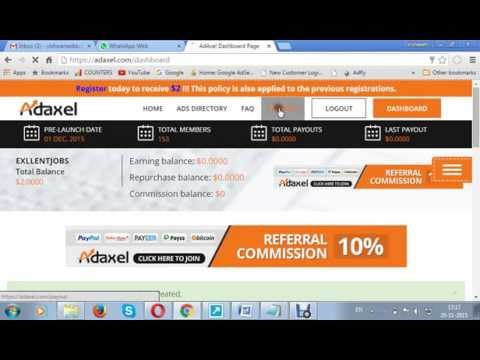 Adaxel !!review and how it works ?sign up step..!!!!