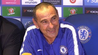 Chelsea 3-2 Arsenal - Maurizio Sarri Full Post Match Press Conference - Premier League