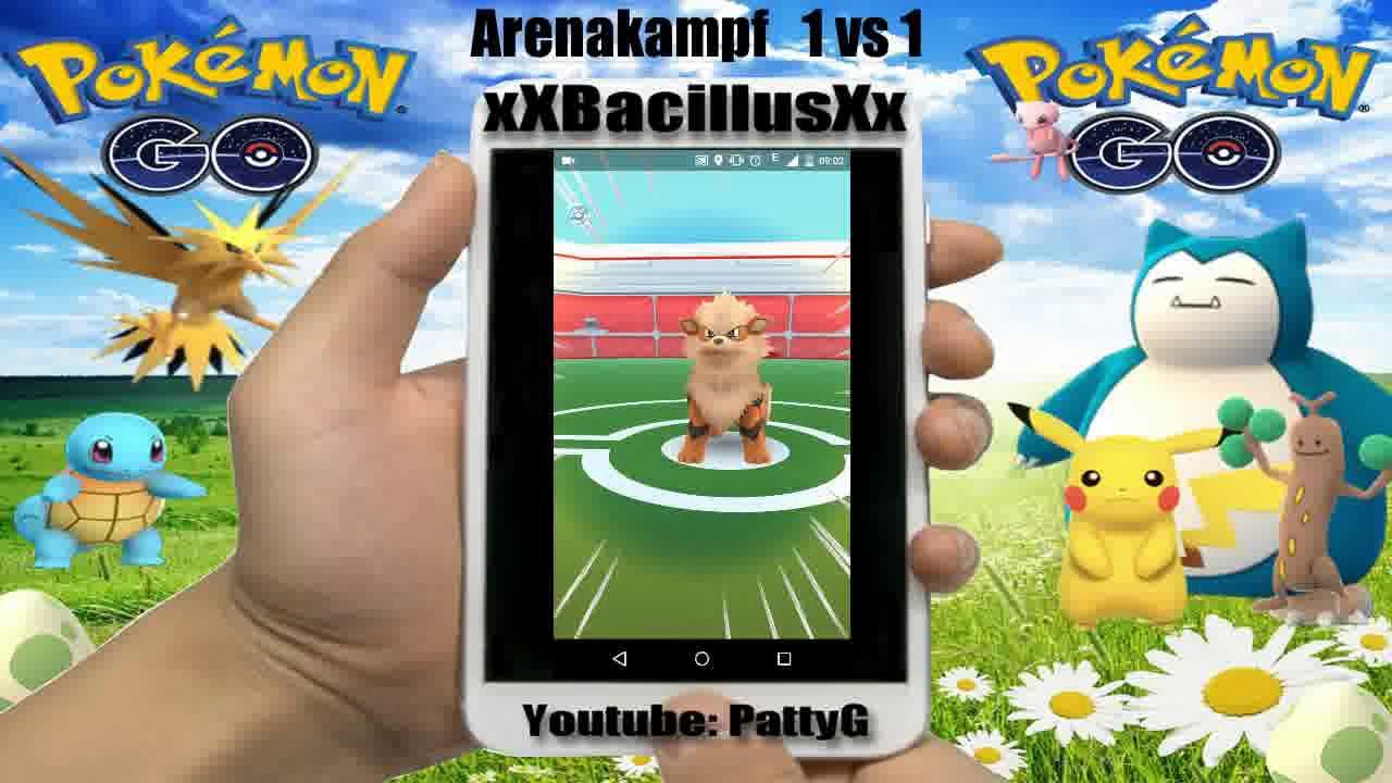 pokemon go arenakampf