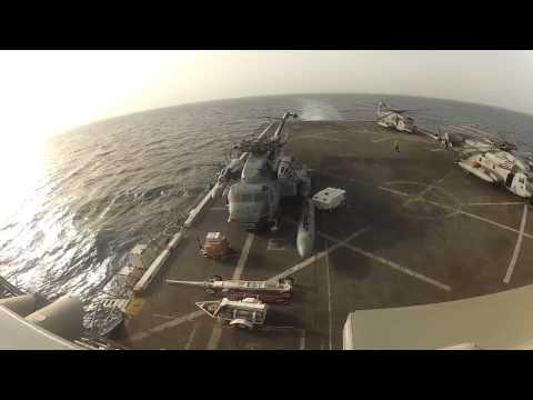 USS San Antonio Ship Tour