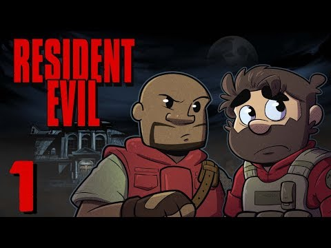 Resident Evil HD Remake | Let's Play Ep. 1 | Super Beard Bros.