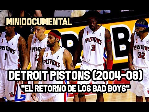 "Detroit Pistons (2004-08) - ""El Retorno de los Bad Boys"" | Mini Documental NBA"