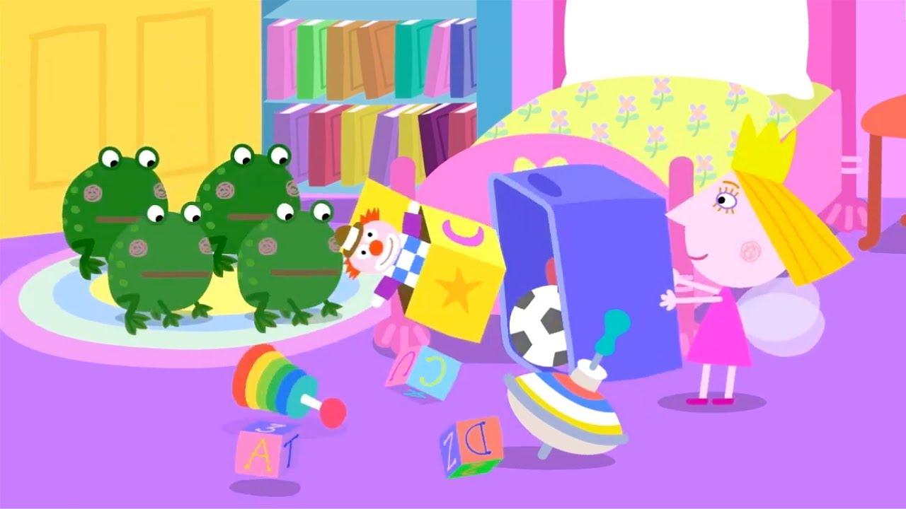 Ben y Holly en Español 🐸🐸 Renacuajos 🐸🐸 Dibujos Animados Divertidos para Niños