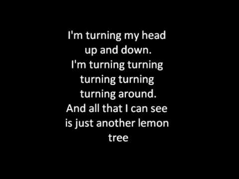 Lemon Tree-Lyrics
