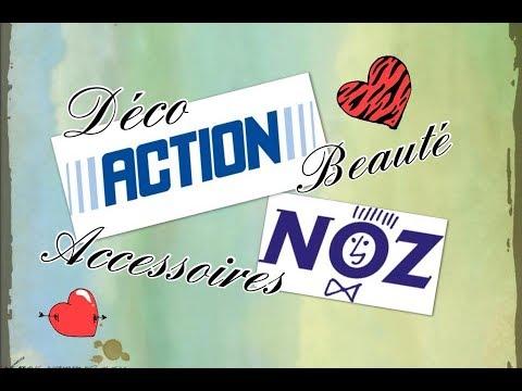 HAUL Noz et Action 23/01 DECO Beauté Accessoires