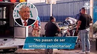 El presidente López Obrador calificó de irresponsables los señalamientos de Clemente Castañeda, coordinador nacional de Movimiento Ciudadano sobre el asesinato de Abel Murrieta en Cajeme, Sonora