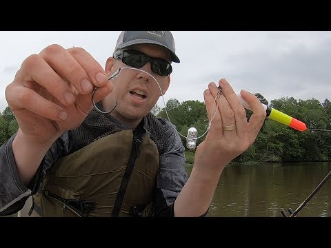 River Fishing For Catfish With Floats - Multi Species Slam On Mystery River