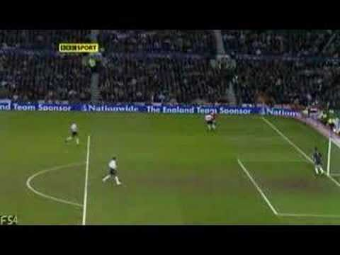 Andres Iniesta goal, England - Spain 0-1