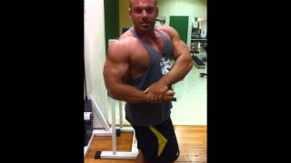 JOHN ADAMS MOTIVATION BODYBUILDING ifbb athlete 2015 workout