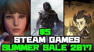 "TOP TEN $5 GAMES ""STEAM SUMMER SALE 2017"""