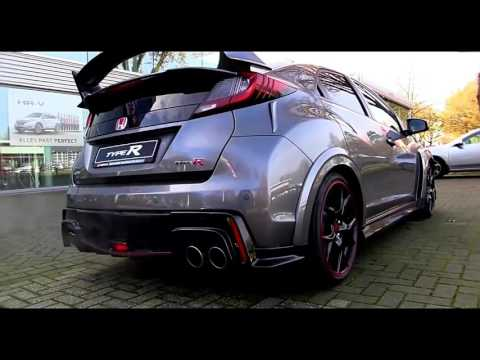 2016 honda civic type r review canada youtube. Black Bedroom Furniture Sets. Home Design Ideas