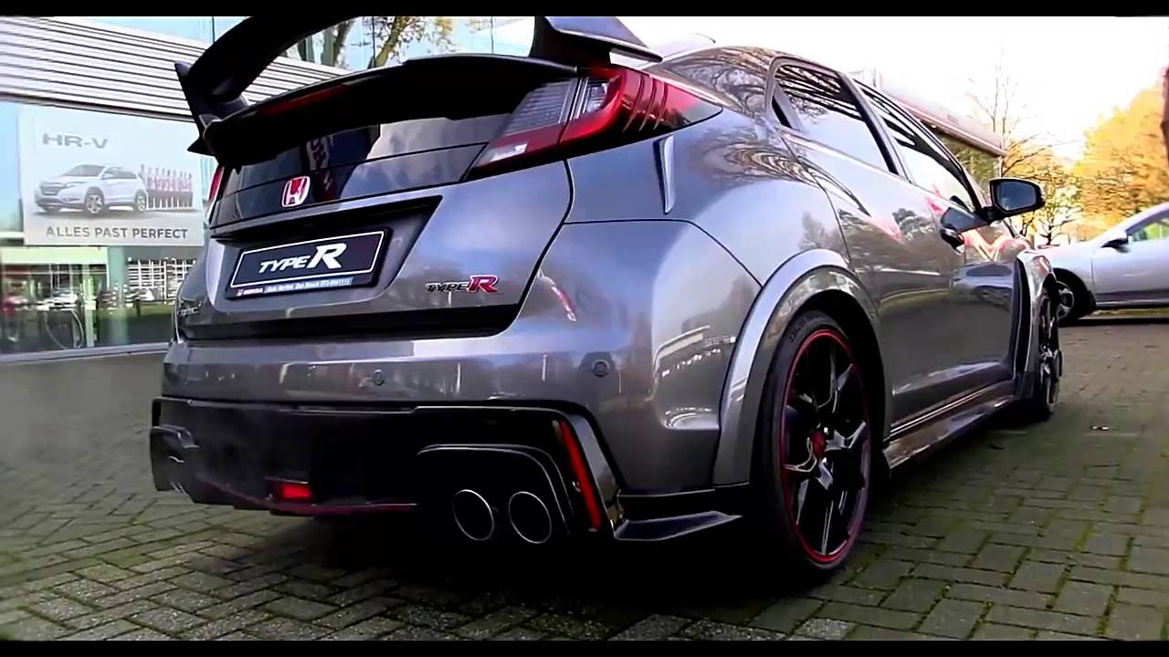 2016 Honda Civic Type R Review Canada - YouTube