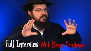 Full Interview With Benny Freidman, On His Music Journey, His Hits Yesh Tikvah, Ivri Anochi & More