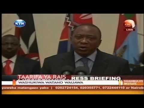 Kenya has triumphed over terrorists -  Uhuru Kenyatta (Full Speech)