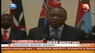 Kenya has triumphed over terrorists -  Uhuru Kenyatta (Full Speech)