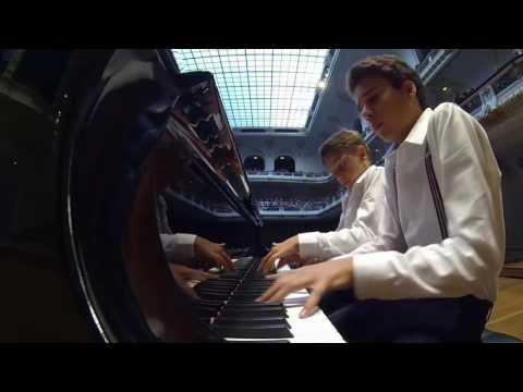 Steinway Festival 2016 Levent Geiger & Ilia Antoniadis: Brahms Ungarischer Tanz Nr. 1