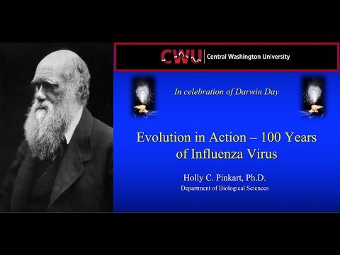 Evolution in Action: 100 Years of Influenza Virus- Dr. Holly Pinkart (Darwin Day 2018)