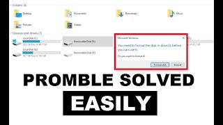 How to Fix You Need to Format the Disk in Drive Before You Can Use It Problem | Easily & Quickly