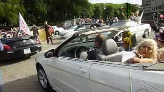Парад НЕВЕСТ - 2013 в Минске! 18ч.(19). Беларусь! Parade of Brides - 2013 in Minsk!