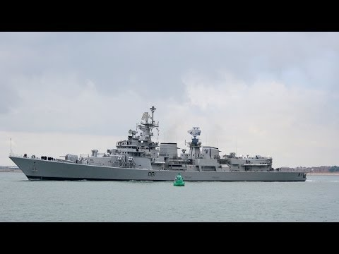 India sends Delhi-Class warship to Iraq to evacuate Indians