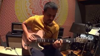 Daniel Fraire custom guitar - Shell Pink relic  -