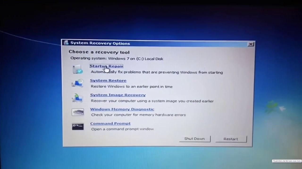 failure to configure updates windows 7