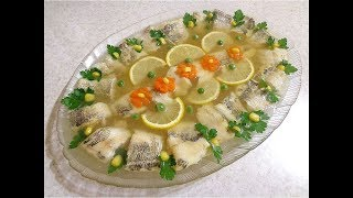 Заливное из рыбы. Заливная рыба! Просто, вкусно, празднично!