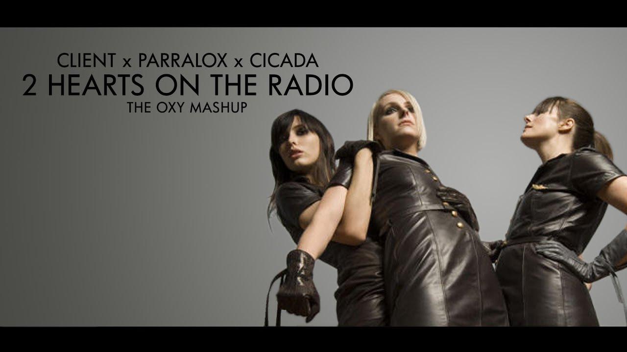 Client x Parralox x Cicada - 2 Hearts On The Radio (Music Video)