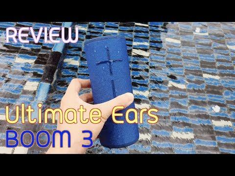รีวิว Ultimate Ears BOOM 3 ลำโพงบลูทูธ กันน้ำ เสียงแน่น 360 องศา ( review ) | Q Taymee