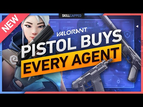 The BEST PISTOL ROUND BUYS For EVERY AGENT! - Valorant Economy Guide, Tips, and Tricks