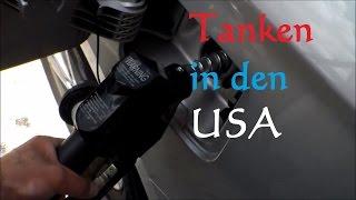 USA Rundreise: Auto tanken in den USA - Mietwagen tanken USA