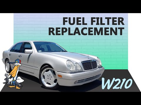2000 mercedes e320 fuel filter mercedes benz w210 fuel filter replacement  1996 03  e320  e420  mercedes benz w210 fuel filter