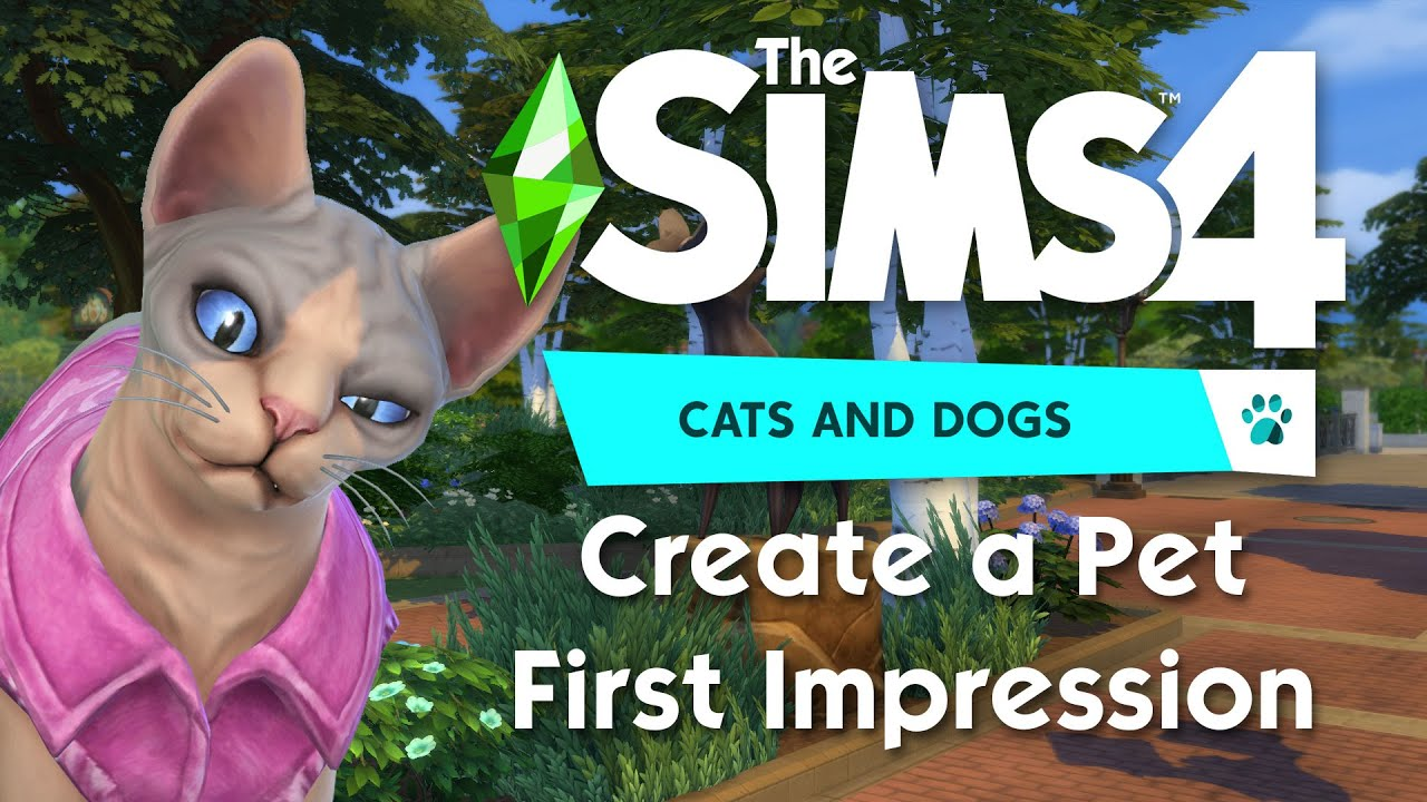 How To Create A Pet In The Sims 4 Sims Online