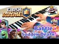 🎵 Clash Royale Battle Sudden Death Piano cover w Sheet music