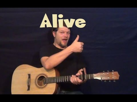 Alive Guitar Chords - One Direction - Khmer Chords