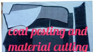 coat pesting and material cutting
