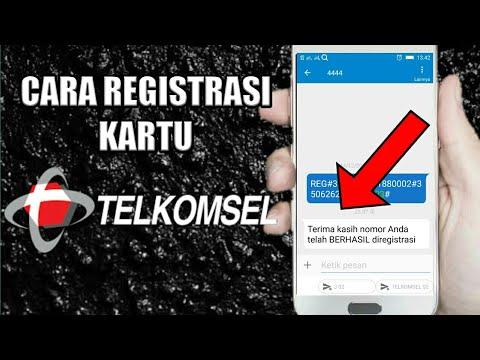 Cara Registrasi Kartu Telkomsel Terbaru Youtube