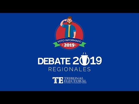 Debate Regionales para Alcalde de Santiago
