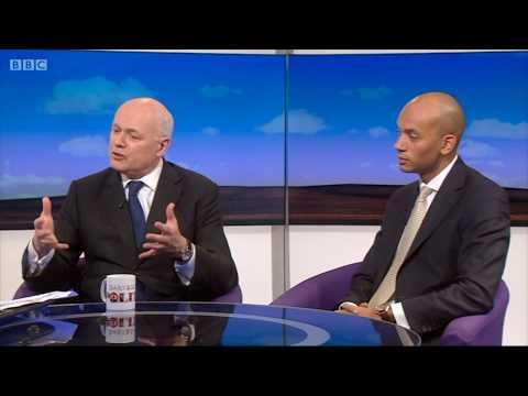 Watch Iain Duncan Smith MP on the Daily Politics