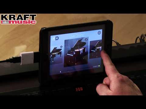Kraft Music - Yamaha P-255 Digital Piano Demo