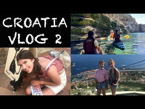 CROATIA VLOG 2: Kayaking and Montenegro Day Trip!