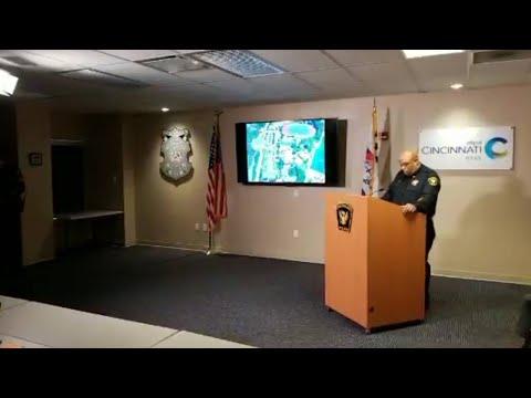Cincinnati police chief gives statement on Kyle Plush's death
