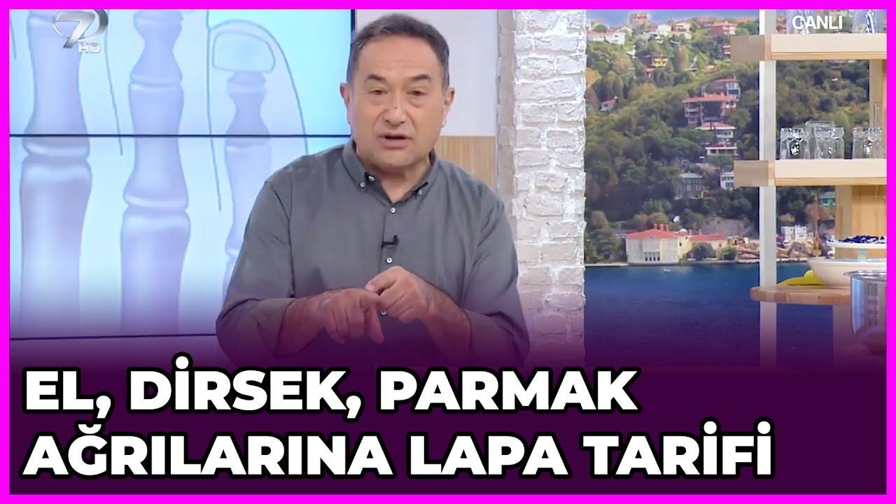 el ve parmak sagligi icin lapa tarifi feridun kunak show 5 subat 2019