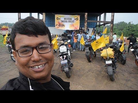 Western Odisha Riders Meetup 2018 ll My 1st DRONE FLY