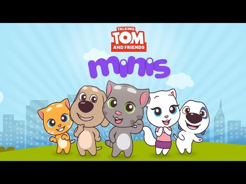 Talking Tom and Friends Minis - LIVE 24/7