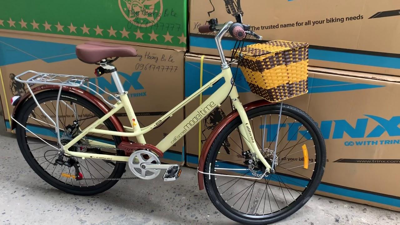 Xe đạp thể thao nữ Califonia Model time . 0961747777 . Huy hoàng bike . Xedaptrinx.vn | Tất tần tật thông tin về thời trang nữ