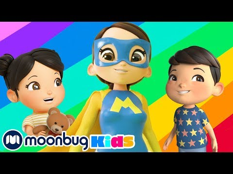 Супер Герой Мама!   Детские мультики   Детские песни   Сборник мультиков   Литл Бэйби Бам