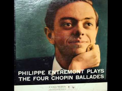 Chopin / Philippe Entremont, 1959: Ballade in A flat major, Op. 47